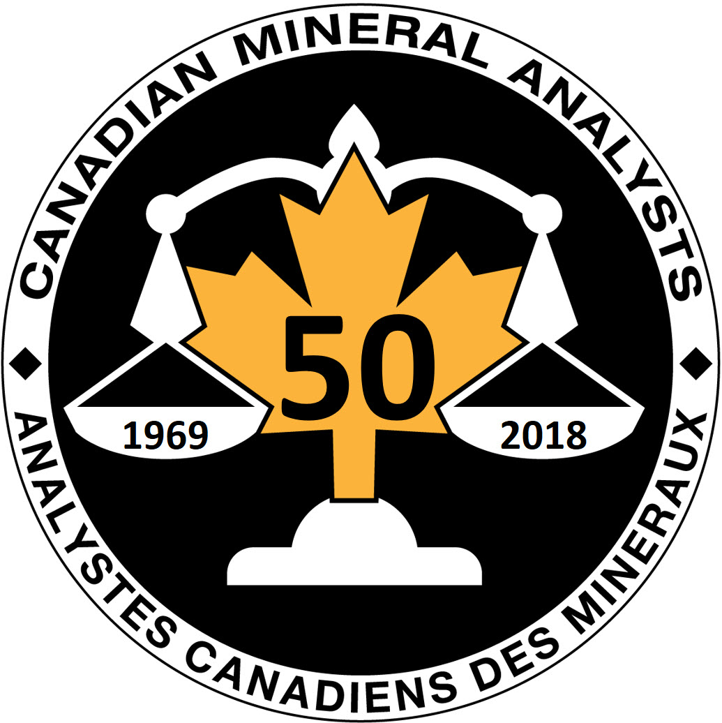 Canadian Mineral Analysts Logo